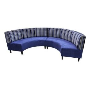 banquette courbe lounge