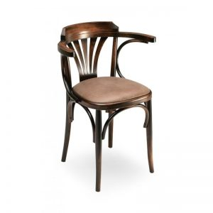 chaise bistro accoudoirs
