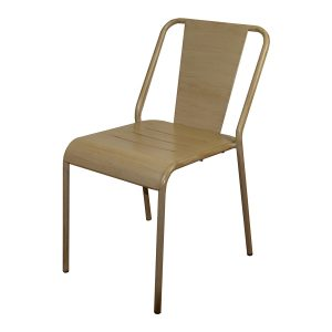 chaise alu mobilier deco